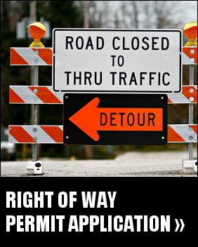Right of Way Permit Application